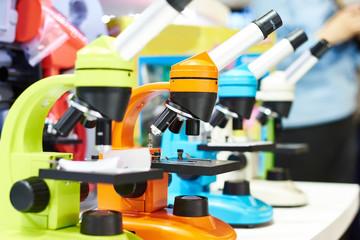 Microscopes for children in school