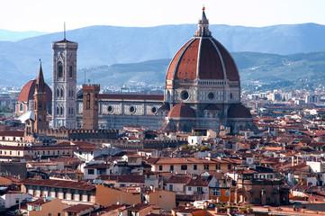 Panorama dalla terrazza Michelangelo a Firenze