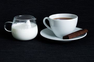 Cocoa with milk