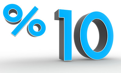 3d blue discount collection - 10 percent