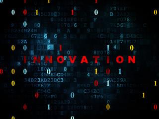 Business concept: Innovation on Digital background