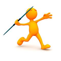 3d Guy: Throwing a Javelin