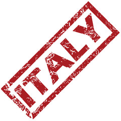 New Italy rubber stamp