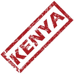 New Kenya rubber stamp
