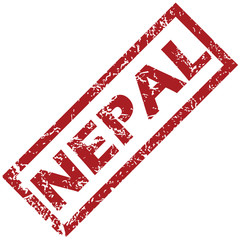 New Nepal rubber stamp