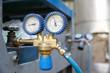 Heavy-duty industrial manometer, measuring pressure - 82012936