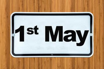 1st May