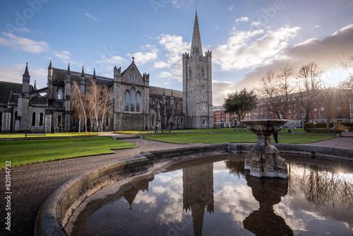 Foto op Canvas Bedehuis St Patrick's Church Dublin