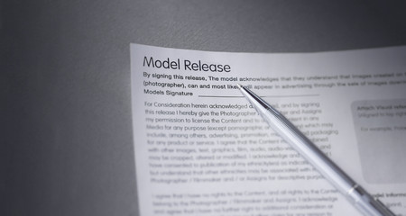 Model release and pen