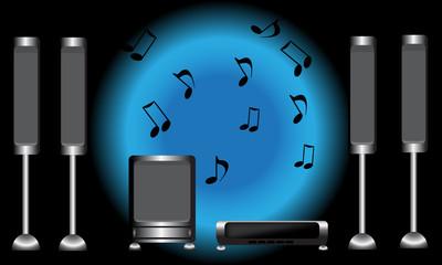 surround music system