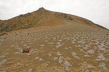 Volcanic Landscape on a Remote Island