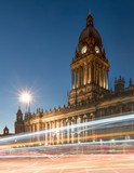Town Hall in Leeds, West Yorkshire, UK (Twilight Shot) - Fine Art prints