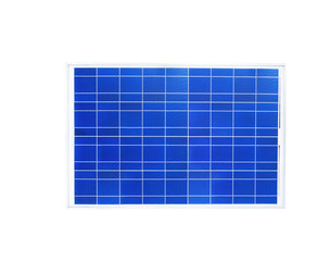 solar cell isolated on white