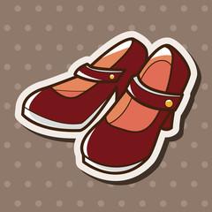 high heels theme elements vector,eps