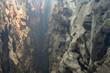 Leinwanddruck Bild - Light tunnel