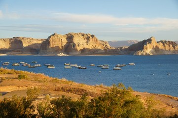 View over Lake Powell.
