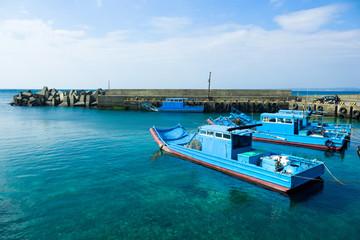 Boat Dock on shore