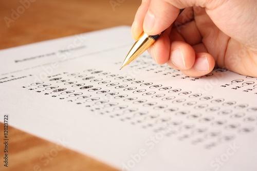 英語の選択問題テスト English Multiple Choice Test - 82023722