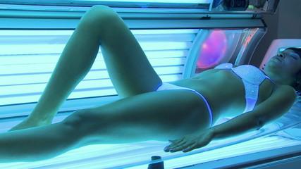 Solarium treatment spa