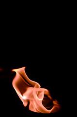 züngelnde Flammen