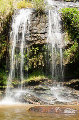 Beautiful waterfall in Chiangmai, northern of Thailand