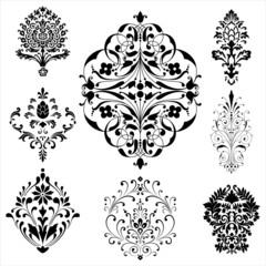 Damask Ornaments