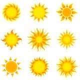 Vector Suns Set