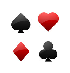 Playing card symbols