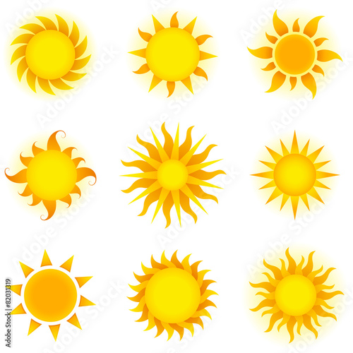 Vector Suns Set poster