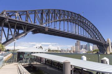 Harbor bridge & Sydney Australia