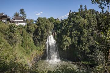 Waterfall in Tengchong, Yunnan of China