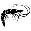 Black Shrimp - illustration - 82034564