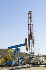 Oil pump installation rig