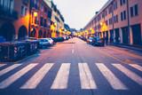 City Street in Italy