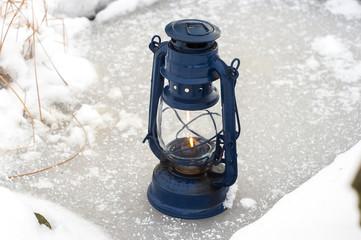 lampka niebieska