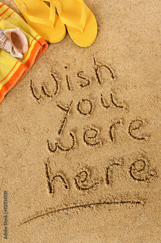 Poster Wish you were here