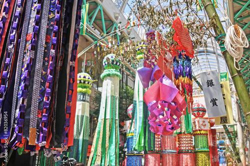 Plexiglas Carnaval 仙台七夕祭り