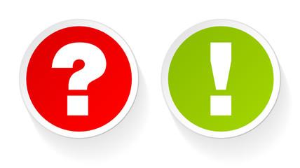 Sticker Question & Answer