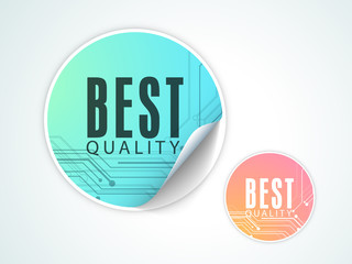 Best Quality sticker, tag or label for your product.