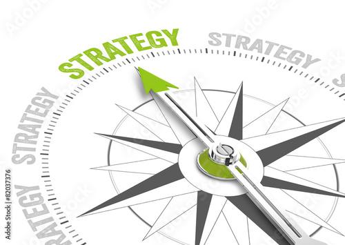 Leinwandbild Motiv Strategy