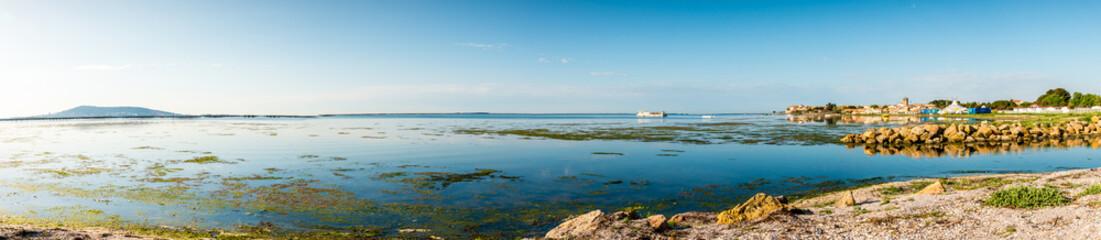 Panoramique de l'étang de Thau
