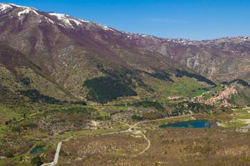 Vista panoramica di Villalago