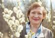Smiling senior woman  in spring