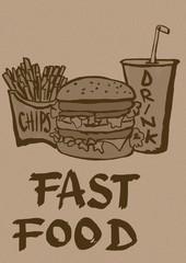 Fast food vintage