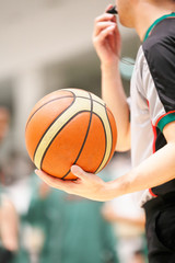 バスケットボールの審判
