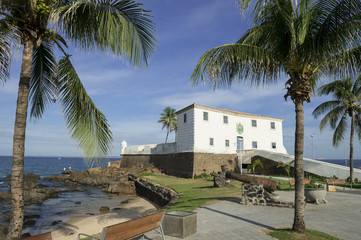 Salvador Brazil Fort Santa Maria in Barra