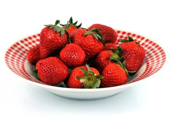 L'assiette de fraises