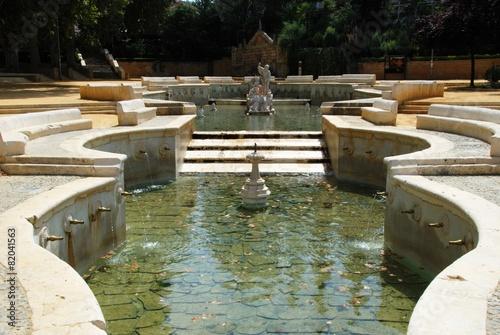 Leinwanddruck Bild Kings fountain, Priego de Cordoba © Arena Photo UK
