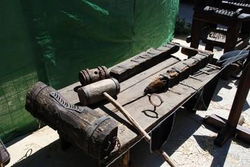 Medieval torture rack, Spain © Arena Photo UK