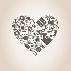 Musical heart8